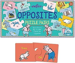 Best eeboo opposites puzzle pairs Reviews