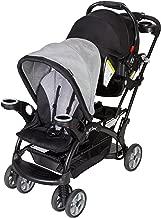 baby trend morning mist double stroller