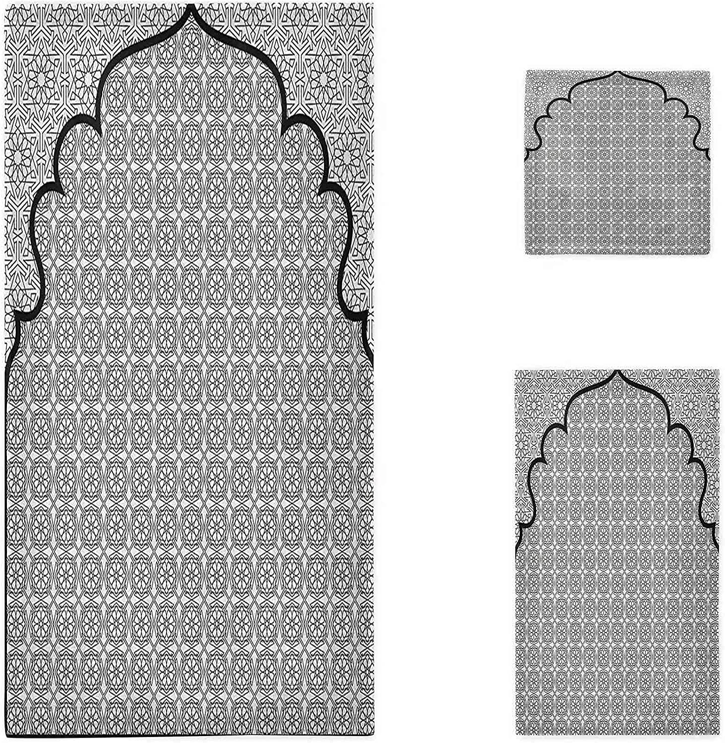 Price reduction Moroccan Towel Set n Max 47% OFF Art Background Traditional a with Group of