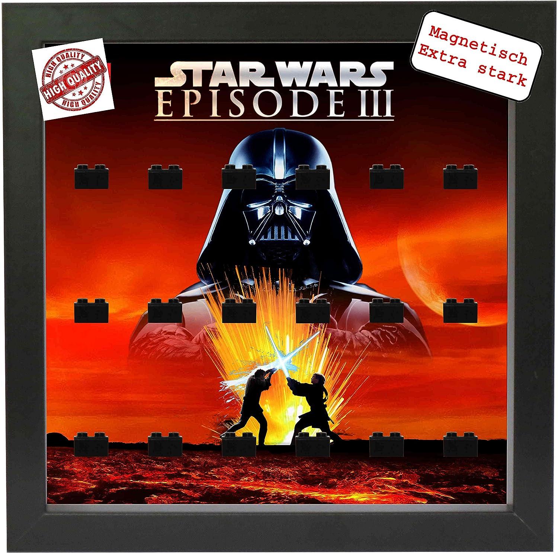 OEM Magnetischer Setzkasten Vitrine Star Wars Episode 3 für Lego Minifiguren Pic1 B01N6BDSRA  Neuer Stil   Feinbearbeitung