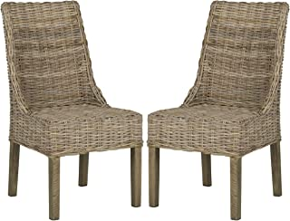 Safavieh Home Collection Suncoast Natural Dining Chair (Set of 2)