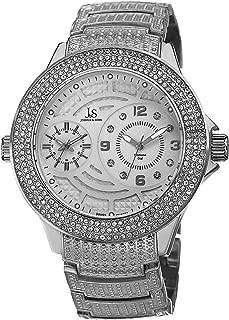 Men's Quartz Genuine Diamond Bracelet Watch JS80SS