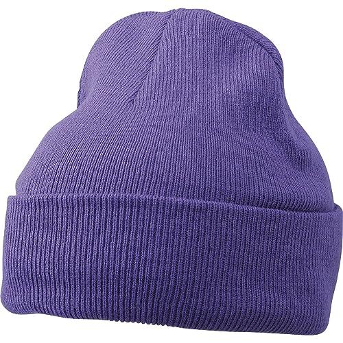 7de0dd1d7b0416 MB KNITTED SOFT FEEL CAP BEANIE HAT - 14 COLOURS