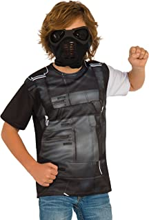 Rubie's Costume Captain America: Civil War Winter Soldier Child Top and Mask, Small
