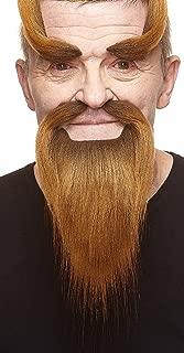 Mustaches Self Adhesive, Novelty, Shaolin Monk Fake Beard, Fake Mustache and Fake Eyebrows