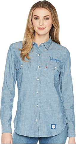 Los Angeles Dodgers Chambray Shirt