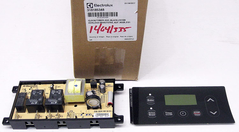 318185348 Max 47% OFF Wall Oven Control Board Genuine Equipment Finally popular brand Man Original
