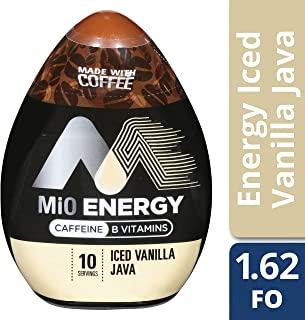 Mio Iced Vanilla Java Liquid Concentrate Energy Drink, 1.62 Fluid Ounce (Pack of 6)