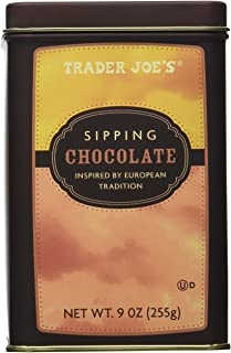 Trader Joe's Sipping Chocolate Inspired By European Tradition Decadent Chocolate Elixir Great for the Festive Season Net W...