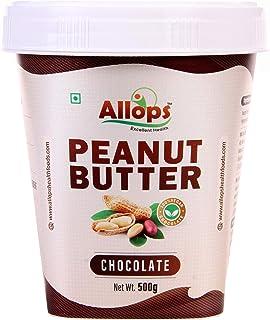 Allops Chocolate Peanut Butter 100% Veg (500 g)