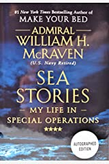 Sea Stories (Admiral William H. McRaven) AUTOGRAPHED EDITION / SIGNED Gift
