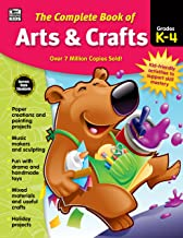 Carson Dellosa – The Complete Book of Arts & Crafts for Grades K–4, The Arts, 416 Pages
