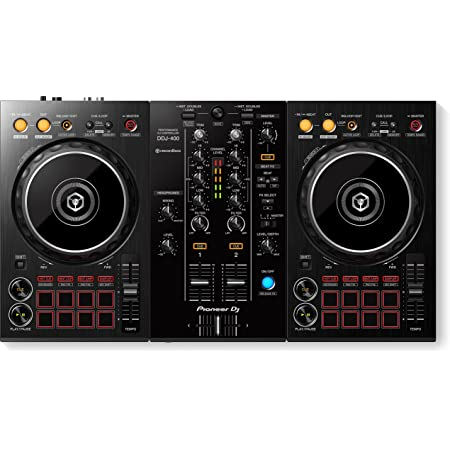 Pioneer DDJ-400 DJ Mando, Negro