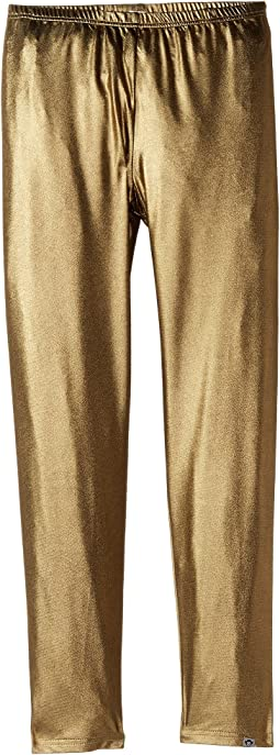 Appaman Kids - Stretchy Metallic Gold Leggings (Toddler/Little Kids/Big Kids)