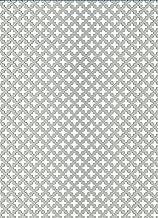 RV 3-5 1,0/mm d/épaisseur B/&T Metall T/ôle perfor/ée en aluminium trous d/écal/és diam/ètre des perforations 3/mm