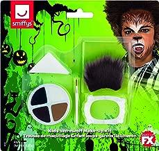 Smiffys Kids Halloween Weerwolf make-up kit, Aqua...
