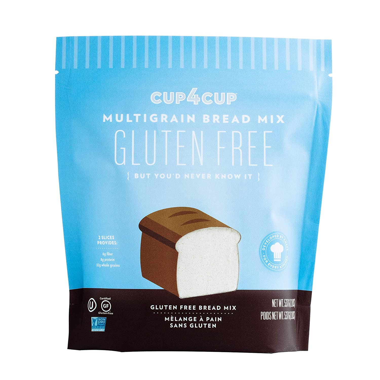 National products Cup4Cup Gluten Free Multigrain Mix lbs Bread Miami Mall 1.2
