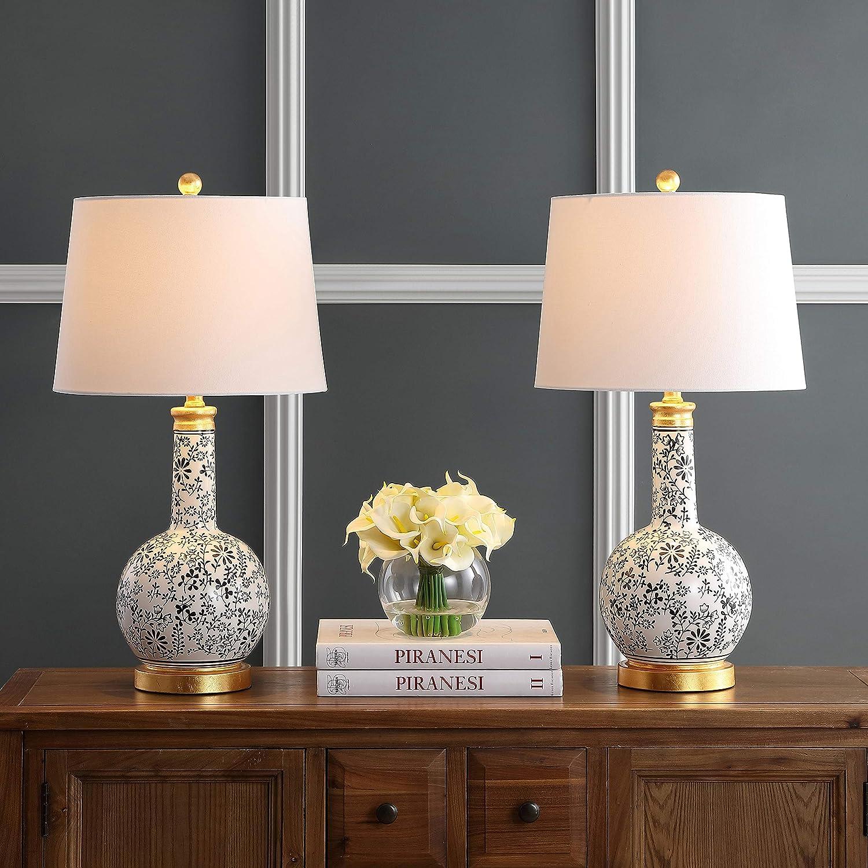 Safavieh Lighting Collection Bodie Black 26-inch L Bedroom Award White Sale special price