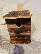 Bat.Box Bat House.one 1=CHAMBER.By.MYRON E Holley.2 nd WORK DAY SHIPPING