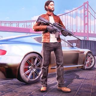Miami Auto Theft Gangster Simulator Juego: Vegas City Crime Adventure y Fighting Survival Mission Gratis para niños 2018