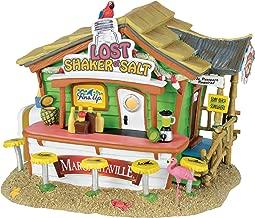 Department 56 Margaritaville Lost Shaker of Salt Bar Musical Village Lit Building, Multicolored