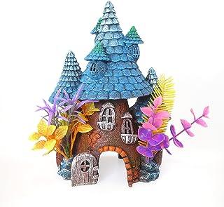 Rosewood Pixie - Figura Decorativa para Acuario o pecera, Color Azul
