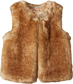 Chloe Kids - Sleeveless Faux Fur Vest (Little Kids/Big Kids)