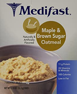 Medifast Maple & Brown Sugar Oatmeal (1 Box/7 Servings)