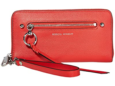 Rebecca Minkoff Gabby Phone Wallet (Tomato) Handbags