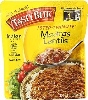 Tasty Bite Madras Lentils, 10oz Pouches, 6-Count