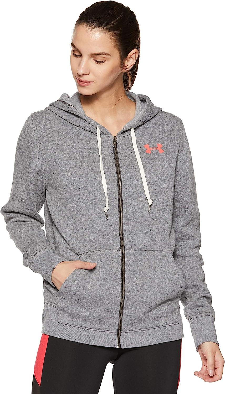 Under Armour Women's Armor Favorite Fleece Full Brand Cheap Sale Venue Zip High order Hoodie