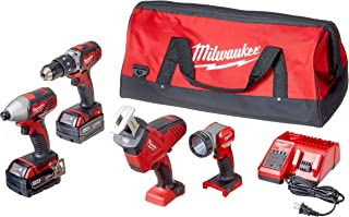 milwaukee m18 4 tool combo kit 2695 24