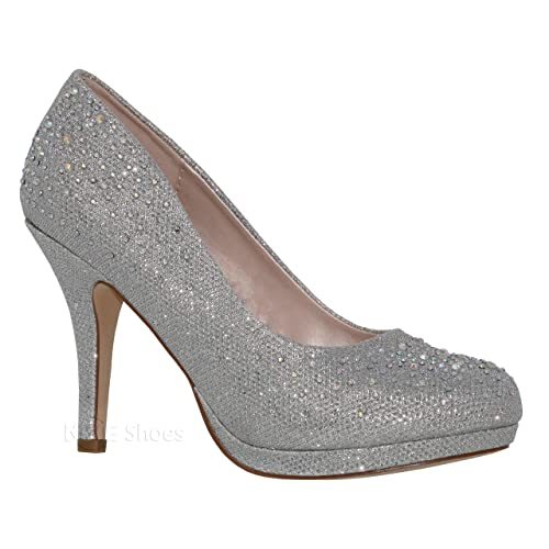 e6d67e2f4 MVE Shoes Womens Stylish Sparkle Closed Toe Ankle Strap Dress Shoes