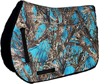 camo horse saddle pad