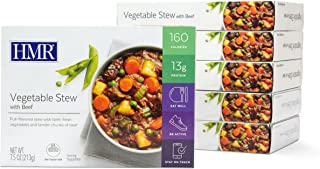 HMR Vegetable Stew with Beef Entree, 7.5 oz. Servings, 6 Count