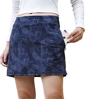 Skort for Women Lightweight Activewear Pockets Skirt for Running Tennis Golf Pickle Ball Workout Casual