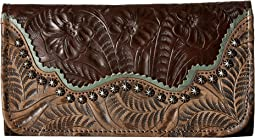 American West Saddle Ridge Trifold Wallet