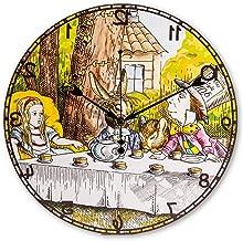 ASVP Shop Alice in Wonderland Backwards Hanging Wall Clock