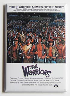 The Warriors Movie Poster Fridge Magnet (2 x 3 inches)