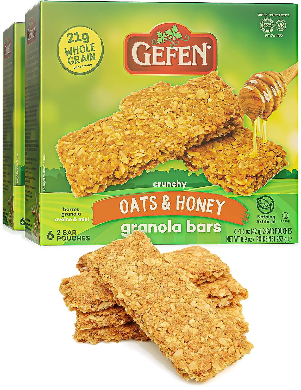 Gefen Oats N' Honey Granola Max 50% OFF Bar 2 All Bars = Natural 24 Pack Milwaukee Mall