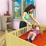 simulador virtual de la madre: juegos de familia feliz mamá