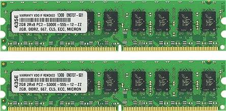 4GB (2X2GB) DDR2 MEMORY FOR Gigabyte Technology GA-MA770-S3 (rev. 1.0)