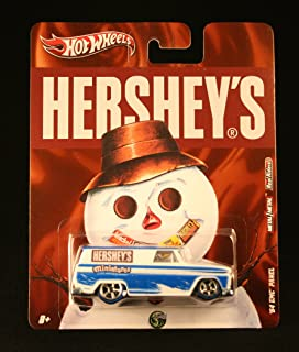 '64 GMC PANEL * HERSHEY'S MINIATURES * Hershey's Hot Wheels 2011 Nostalgia Series 1:64 Scale Die-Cast Vehicle