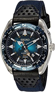 Seiko Men's Quartz Watch SUN059P1 with Textile Strap