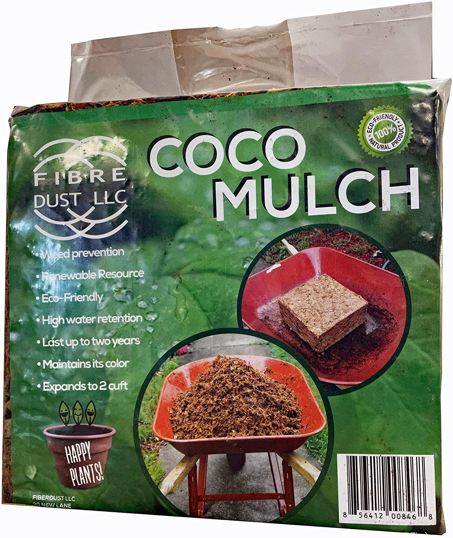 FibreDust 4 Kg Regular discount Luxury Coco Mulch Pack - 2