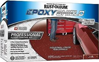 Rust-Oleum 238468 Epoxy Shield Esh-06 Professional Based Floor Coating Kit, Liquid, Tile Solvent Like, 263 G/L Voc, Dary Gray