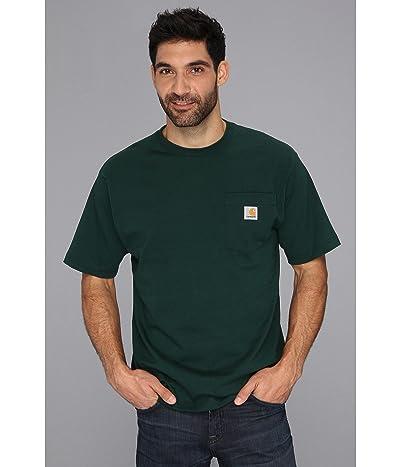 Carhartt Workwear Pocket S/S Tee Tall (Hunter Green) Men