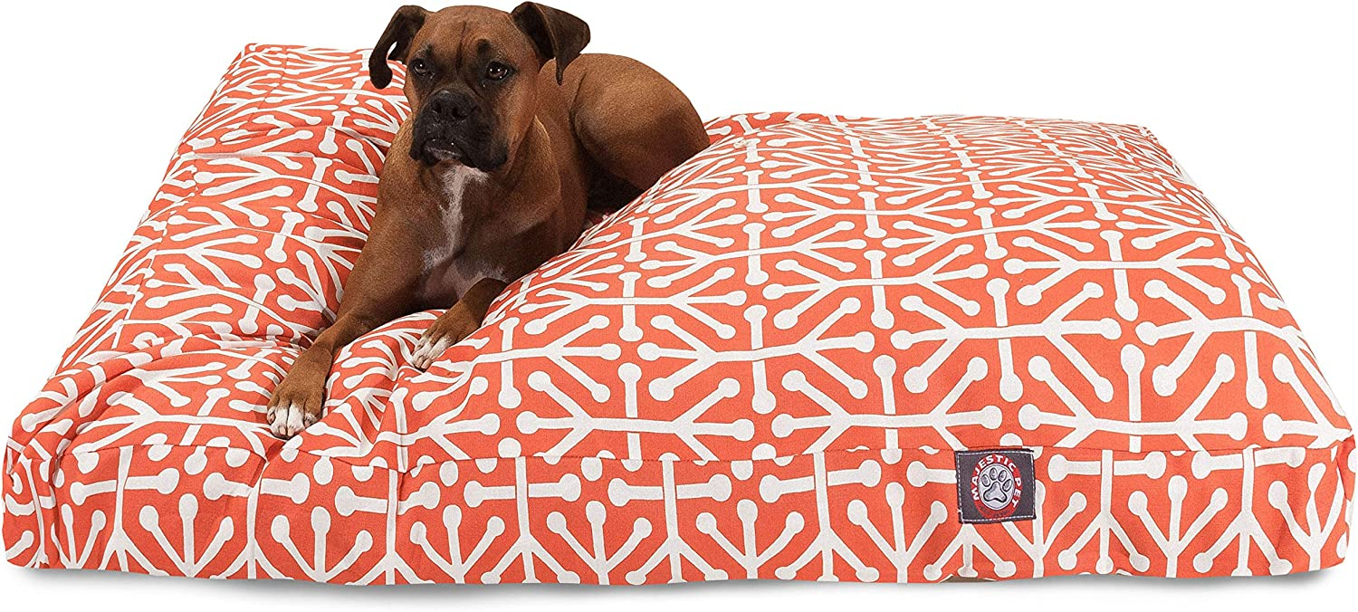 Orange Aruba Extra Large 55% OFF Rectangle Indoor Outdoor Pet Courier shipping free shipping Wi Dog Bed