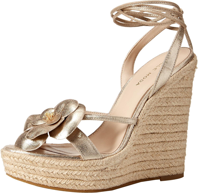 Pelle Moda Women's Olena Wedge Sandal