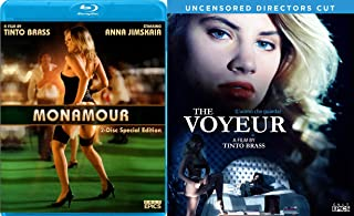 Tinto Brass 2-Blu-ray Set - Monamour (2-Disc Special Edition with Kick the Cock) & The Voyeur (Uncensored Director's Cut) 2-Blu-ray Bundle